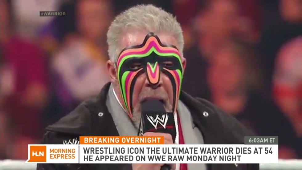 Ultimate Warrior falleció a los 54 años