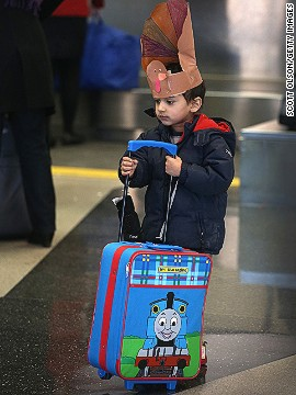 If you let your kids pack their own carry-on bag of travel toys, you'd be wise to check what's going in there to avoid any unpleasant incidents at security.