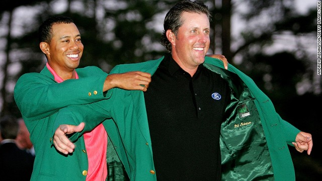 "With an injured Tiger Woods missing the Masters for the first time in his career, an extra slice of homegrown fervor will focus on another all-American favorite -- Phil Mickelson. ""Lefty"" has three green jackets to his name and, after shaking off recent injury concerns, says he feels ""great"" heading to Augusta."