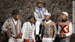 Knitwear and v-necks -- Xhosa fashion
