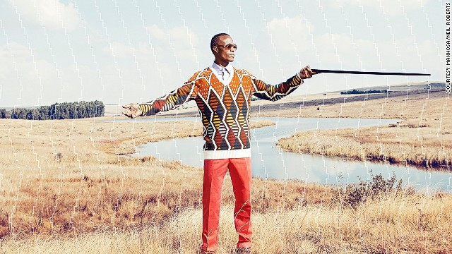 In South Africa's Eastern Cape, Xhosa men undergo an initiation, after which they must wear formal clothing for six months. <!-- --> </br>Knitwear designer Laduma Ngxokolo was dismayed that the formal clothes available to Xhosa men were from the West, so he created formal wear that incorporates the Xhosa aesthetic.