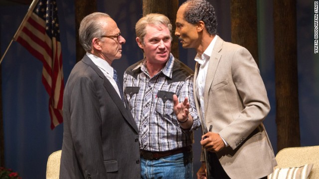 Political drama 'Camp David' chronicles messy path to peace
