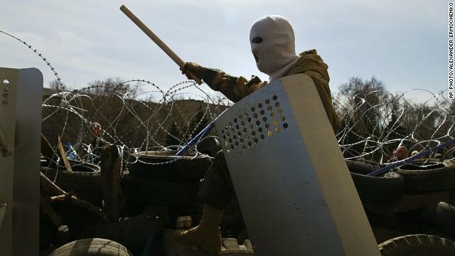 «Dejen las armas y no habrá persecución», dice presidente de Ucrania a separatistas