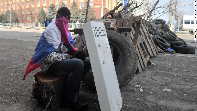'Russia trying to create climate of chaos in Ukraine'