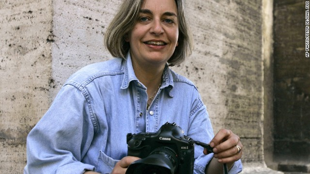 War photography comes with its risks. German photojournalist Anja Niedringhaus was killed on April 4, 2014, while covering Afghanistan's elections.