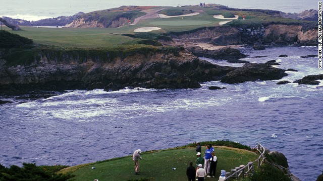Jones was convinced to employ MacKenzie to design his own course after playing at Cypress Point in Monterey, California. MacKenzie's design maximized its proximity to the rugged coastline of the Pacific Ocean, and many consider it to be his masterpiece.