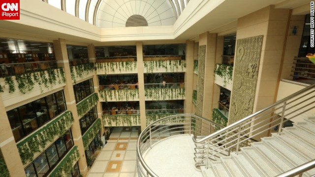 "<a href='http://ireport.cnn.com/docs/DOC-1118192'>Weffy Müller</a> says that the architecture of the <a href='http://www.library.sh.cn/web/index.html' target='_blank'>Shanghai Library</a> isn't as impressive as some of the libraries she's visited, but ""the amount of the collection is quite amazing."" According to <a href='http://www.shanghaiexpat.com/article/good-read-pt3-libraries-shanghai-9268.html' target='_blank'>Shanghai Expat</a>, the library has books that cannot be found anywhere else in China. <!-- --> </br><!-- --> </br><strong>Click on the double arrows below to see more beautiful photos of libraries.</strong>"