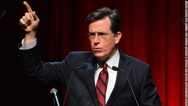 What is Stephen Colbert like out of character? - CNN com