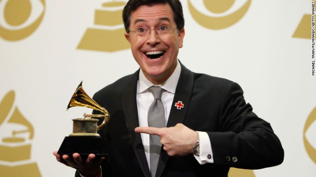 Colbert's awards haul isn't limited to Emmys and Peabodys. In 2010 he won a Grammy for his Christmas album, and four years later won another for best spoken-word album.