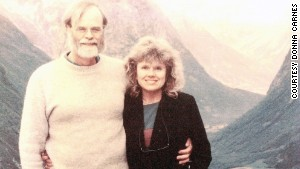 Gray and Carnes on a trip to Norway. She considered moving to her ancestral homeland after he disappeared.