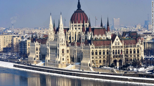 Sightsmap.com has revealed the destinations tagged most often on Panoramio, a Google photo-sharing website. European cities dominate the list with Budapest ranking 10th.