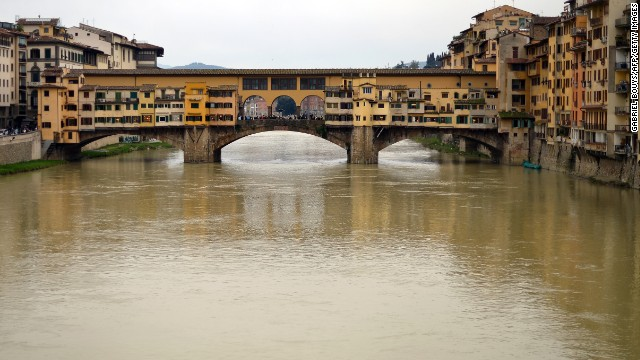 The Ponte Vecchio (Old Bridge) is beautiful, but it isn't as Panoramio-popular as Piazzale Michelangelo (Michelangelo Square).