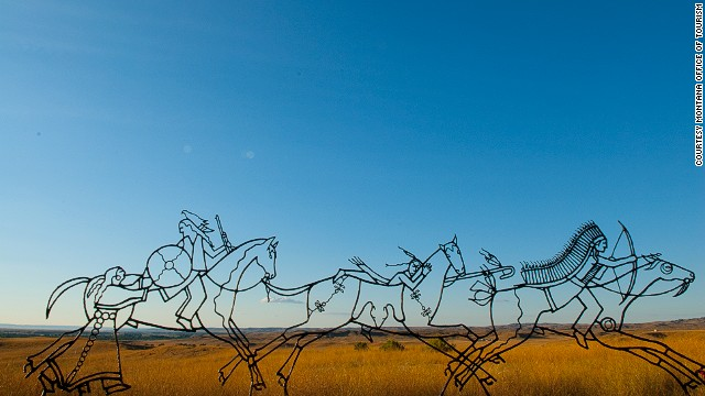 One of the most famous battles in U.S. history is remembered at the <a href='http://www.nps.gov/libi/index.htm' target='_blank'>Little Bighorn Battlefield National Monument</a>, where the Sioux and Cheyenne famously defeated the U.S. Army's 7th Cavalry.