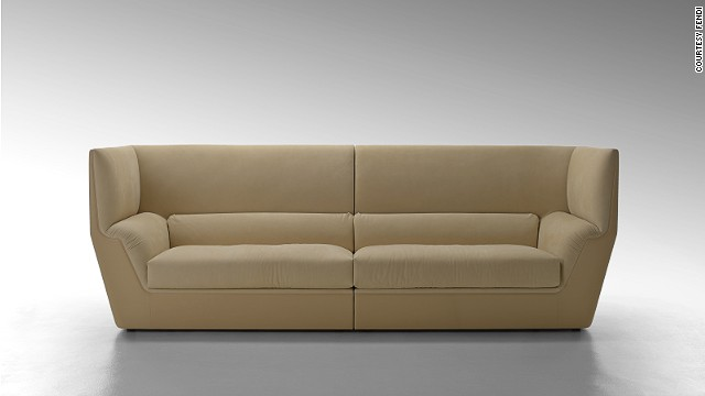 "Luxury label Fendi, well known for its refined home decor line <a href='http://www.fendi.com/us/en/collections/fendi-casa/philosophy' target='_blank'>Fendi Casa</a>, unveiled its vision of understated elegance with its ""Cocoon"" sofa."