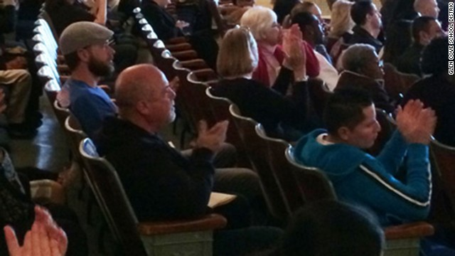 Billy Joel watches Deasy Elementary School students perform their spring concert,