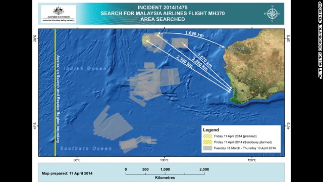 Photos: The search for Malaysia Airlines Flight 370