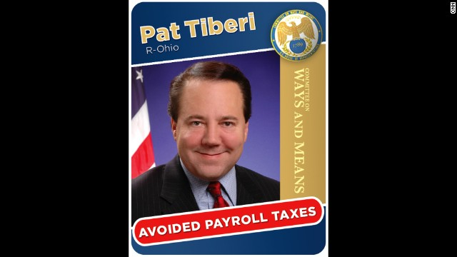 Rep. Pat Tiberi was criticized for not paying employment taxes on his campaign workers during his 2008 and 2010 campaigns. Tiberi said he followed IRS rules.
