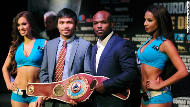 "Pacquiao is refusing to contemplate retirement if he loses the fight despite his advancing years. ""I always think positive and not negative,"" he told CNN."