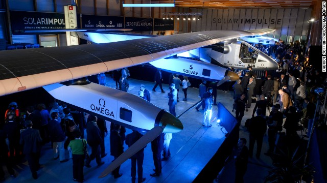 "Solar Impulse is a single-seater aircraft designed to have ""virtually unlimited autonomy,"" aiming to become the first sun-powered plane to circle the globe."