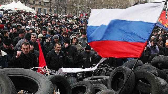 Grupos separatistas prorrusos desafían el utlimátum de Kiev