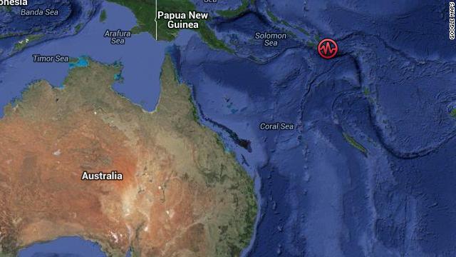 Sismo de magnitud 7,5 sacude las Islas Salomón