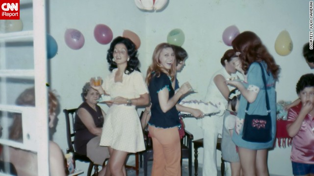 "Julio Camerini shared a photo from 1969 of his ninth birthday in Sao Paulo, Brazil. He says back then Brazil was influenced by the U.S. when it came to music and fashion. ""Rock and Roll dominated the programming on radios, and so did mini skirts,"" he said."