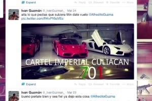 Carteles en las redes sociales