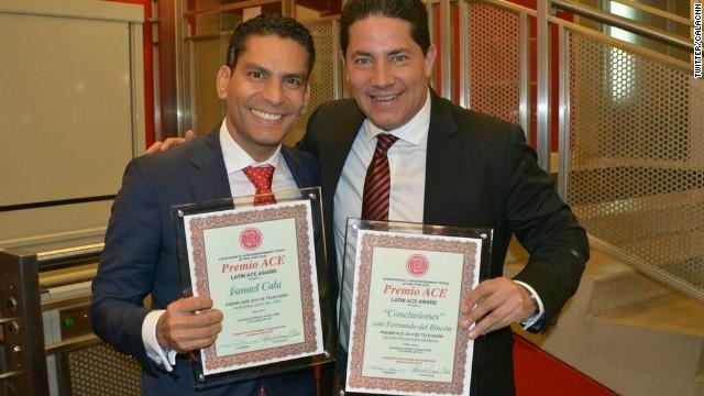 Fernando del Rincón, Conclusiones e Ismael Cala reciben premios ACE