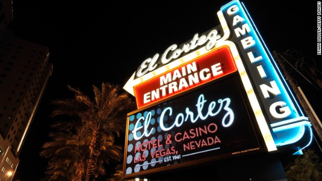 Not every old haunt of Vegas past has been torn down. Some gems are still around. The El Cortez inhabits a 1940s building decked out with vintage neon.