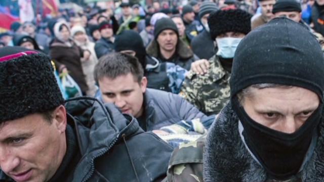 Никаких признаков подавления на Украине.