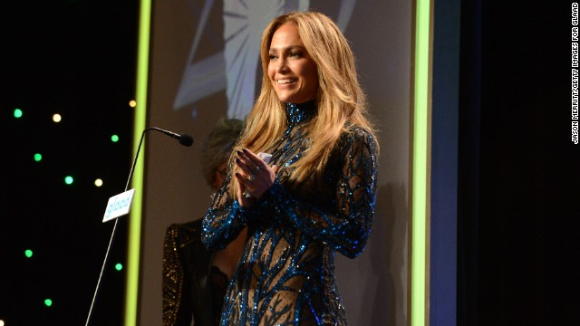 Jennifer Lopez honored with GLAAD award