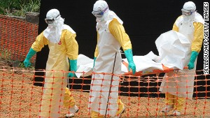 Ebola epidemic in 3 countries