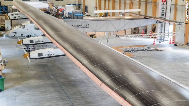 The plane's wings stretch for a massive 72 meters, while its weight stands at just 2,300 kilograms.