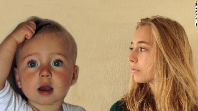 14 años en 4 minutos: espectacular time-lapse del crecimiento de una niña