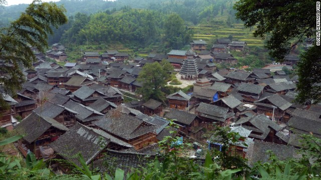 The Dong people live in Dali Village, one of the <a href='http://globalheritagefund.org/what_we_do/overview/current_projects/guizhou_china' target='_blank'>Minority Villages of Guizhou, China.</a> Although thousand-year-old architecture, landscapes and traditions still exist in the villages, modernization is slowly driving out the ancient ways.