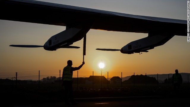 Solar Impulse 2, which was unveiled last week in Payerne, Switzerland, is expected to begin its journey in March 2015.
