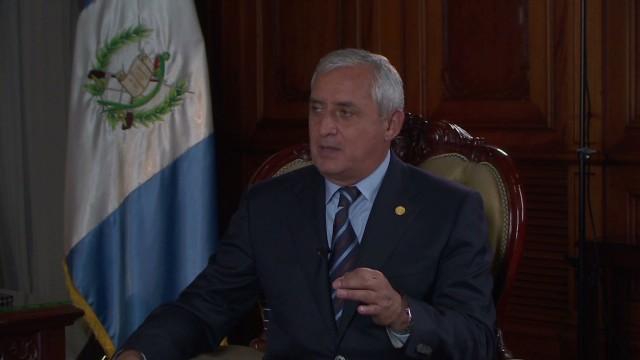 Otto Pérez Molina: La mejor política de seguridad es la económica