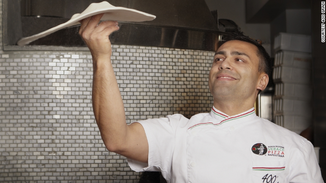 Australian chef Johnny Di Francesco (pictured) took home top honors at the World Pizza Championship in Italy.