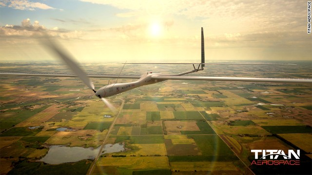 Titan Aerospace, a start-up that makes solar-powered drones, was acquired by Google in April.