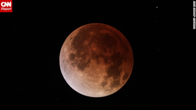 <a href='http://ireport.cnn.com/docs/DOC-1120755 '>Jeffrey Root</a> shot this photo of the April 15 blood moon through a telescope in Salt Lake City.