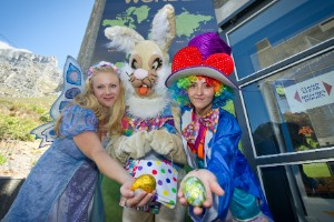 La Pascua, la Luna y un conejo