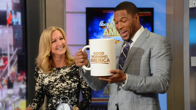 Michael Strahan debuts on 'Good Morning America'