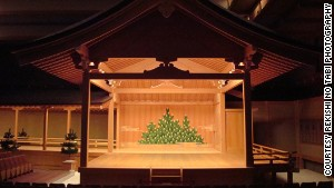 At Tokyo\'s Noh theater, performances can go on all day.