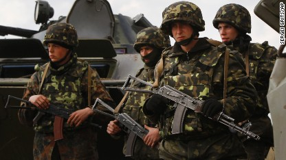 Ukraine military attacks