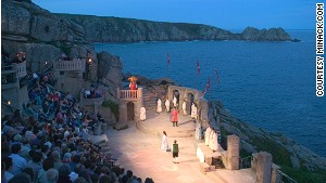 Minack Theatre: Let\'s hope it doesn\'t rain.