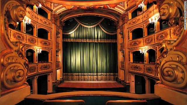 Built in 1731, this is one of Europe's oldest working theaters. The building remained unscathed despite serving as a bomb shelter during World War II.