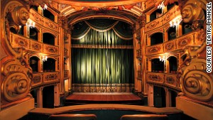 In Malta, one of Europe\'s oldest theaters.