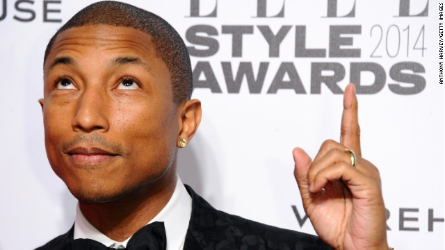 ¿Por qué llora Pharrell Williams, el creador de 'Happy'?