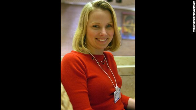 Yahoo CEO Marissa Mayer was once <a href='http://curiosity.discovery.com/question/why-work-for-google' target='_blank'>an intern at Union Bank of Switzerland</a>. After graduating from Stanford, she was Google's 20th hire and climbed the ranks to become vice president of location and local services. She's seen here during the World Economic Forum in Switzerland in 2006.