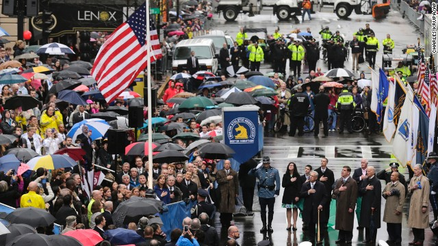 Photos: Boston Marathon bombing anniversary